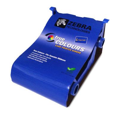 Zebra 800017-240 P100 Series Eco YMCKOi Ribbon - 200 Images