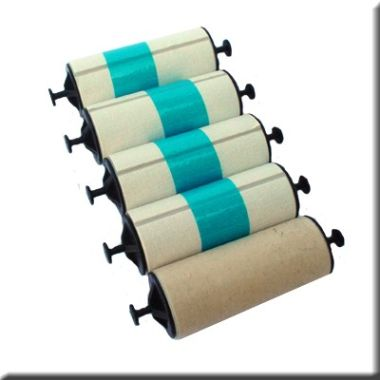 Zebra 105912-003 Adhesive Cleaning Roller (Pack of 5)