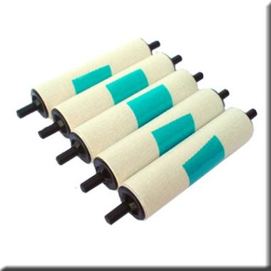 Zebra 105912G-301 P100i Series Adhesive Cleaning Roller (Pack of 5)