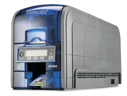 Datacard 506339-001 SD360 Card Printer (Dual Side)
