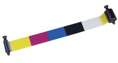 Evolis R3011 YMCKO Ribbon: 200 Images (for Pebble, Dualys)