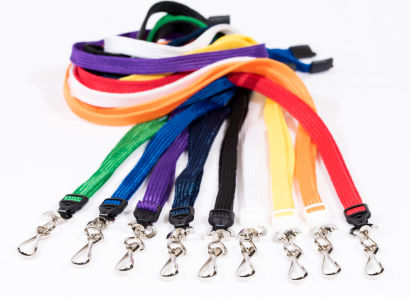 Breakaway Lanyards with Metal Swivel Hook