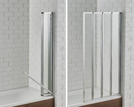 swiftseal 4 fold bath screen