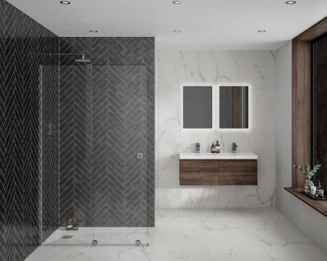 sliding wetroom