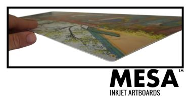 NEW! MESA INKJET 2-SIDED MATT ARTBOARD