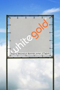 Alpina Aqueous Blockout Banner Vinyl 375gsm