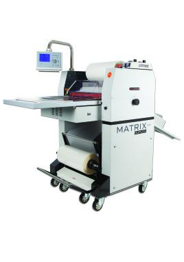 Matrix MX530DP B2 Duplex Pneumatic Roll Laminator with Foiling Option