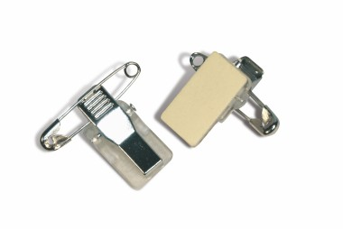 Combined Pin and Clip - Self-adhesive