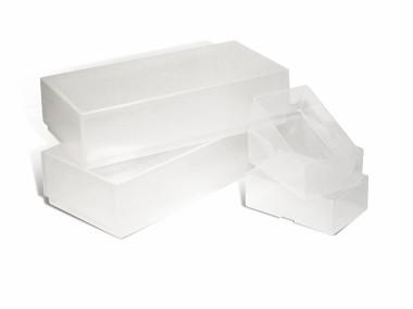 A-Line Business Card Boxes - Plastic