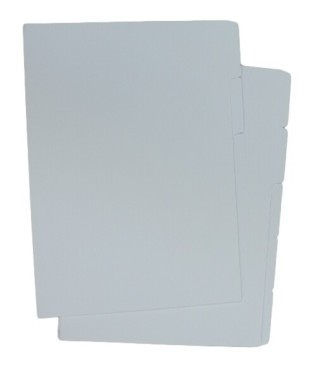 A-Line Tabbed Dividers - Plain A4