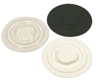 CD Holder - vac formed White
