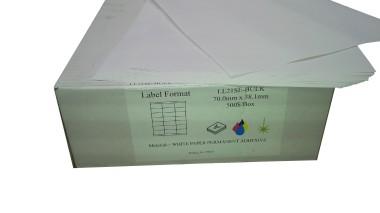 Digital Sheet Labels White SRA3 Permanent/Removable