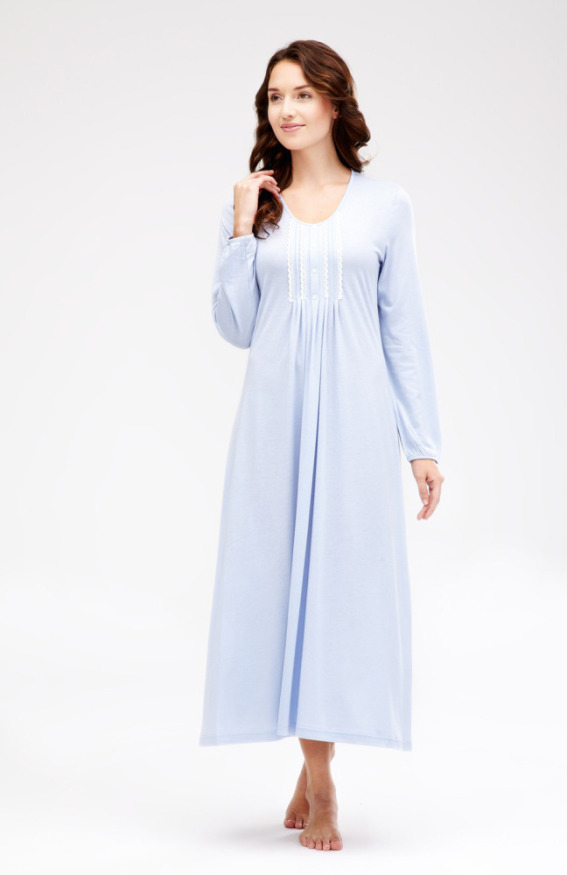 Claudia Long Sleeve Nightdress