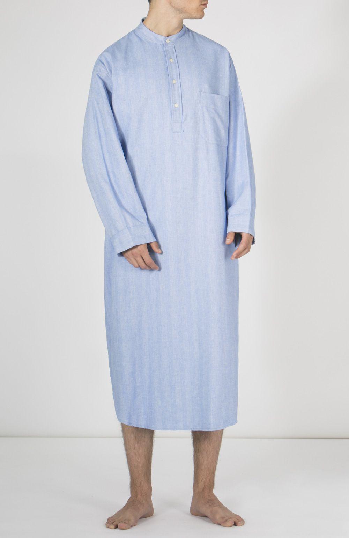Mens Flannel Night Shirt