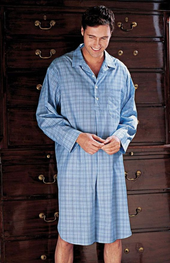 Men's Summer Weight Nightshirts