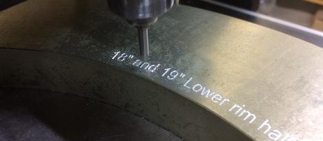 Aluminium Component Marking