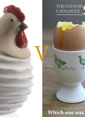 So which is it? Chicken or the Egg?