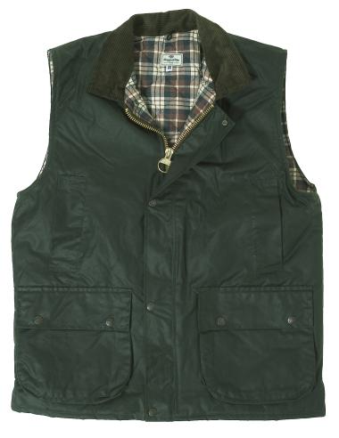Hoggs of Fife Padded Wax Waistcoat