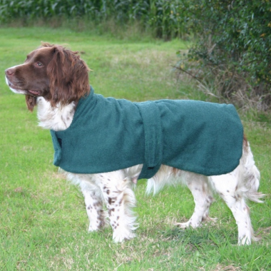 Towelling Dog Coat