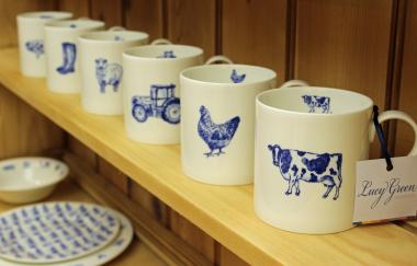 Lucy Green Designs - Chicken Mug