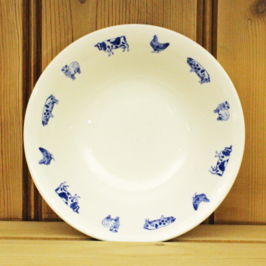 Lucy Green Designs - Farm Animals Cereal Bowl