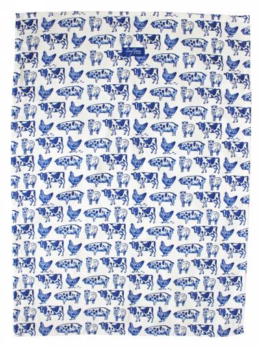 Lucy Green Designs - Farm Life Tea Towel