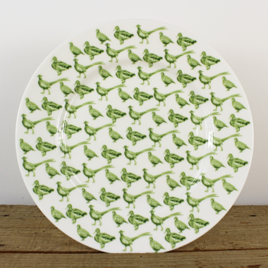 "Lucy Green Designs - Game Birds 8.5"" Plate"