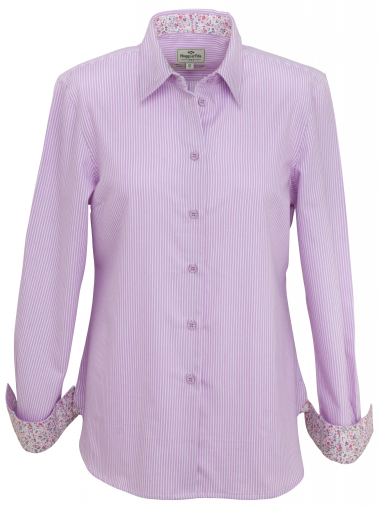 Hoggs of Fife Bonnie Ladies Cotton Shirt - size 10