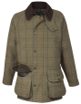 Alan Paine Rutland Tweed Coat (Dark Moss)
