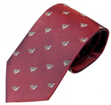Woven Silk Tie - Grouse & Partridge