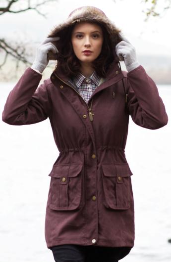 Jack Murphy Alexis Parka Coat - size 10