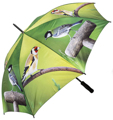 Country Umbrella - Garden Birds