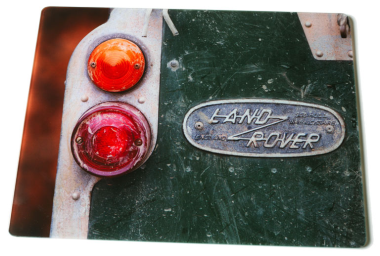 Glass Worktop Saver - Land Rover