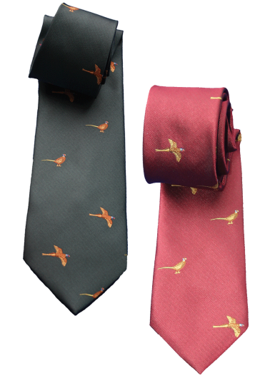 Children's Standing & Flying Pheasant Tie