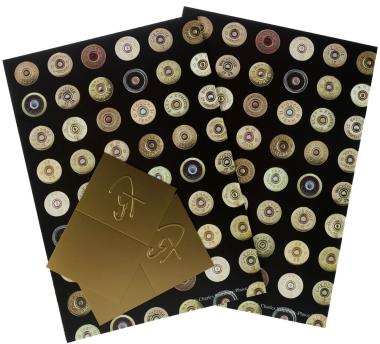 Cartridges Gift Wrap - Black & Gold