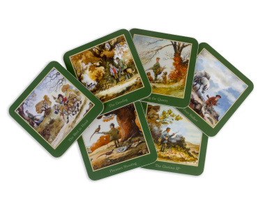 Shooting Coasters By Thelwell - Pack of Six