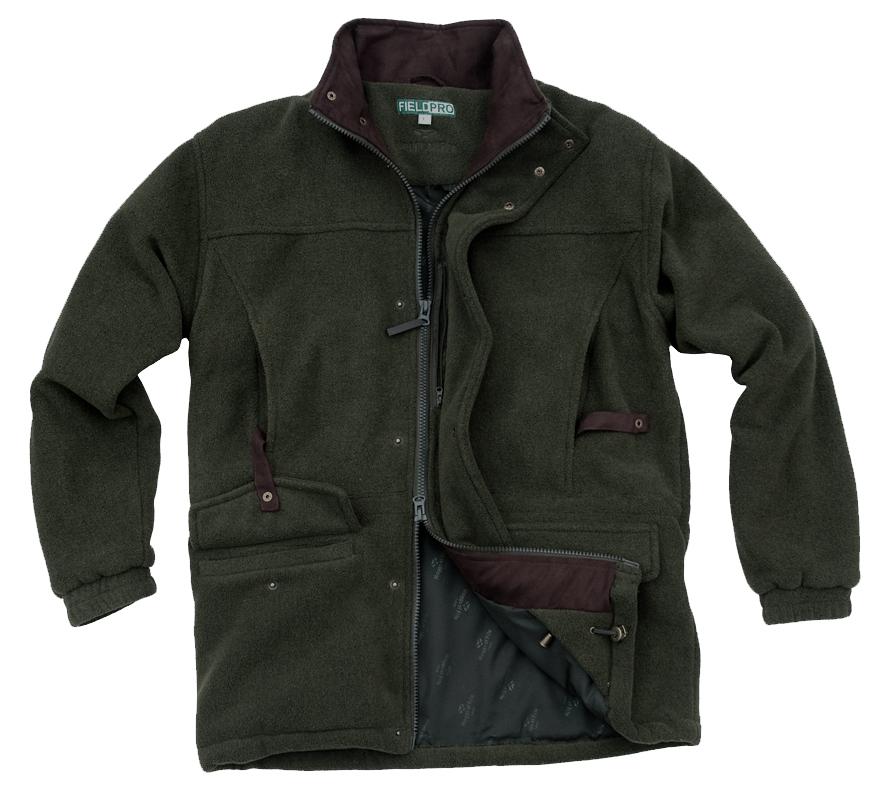 Hoggs of Fife Sportsman Waterproof Fleece Shooting Jacket ...