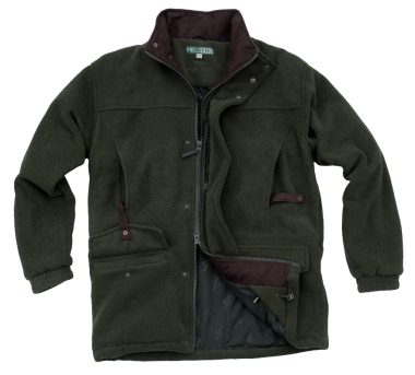 Hoggs of Fife Sportsman Waterproof Fleece Shooting Jacket