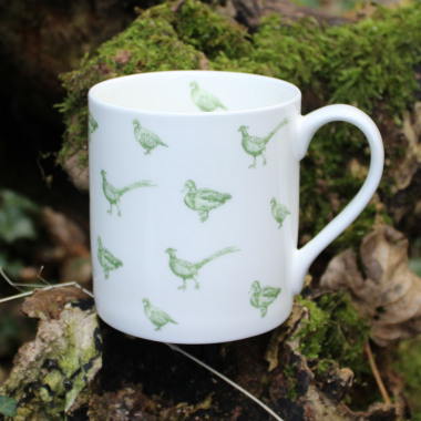 Lucy Green Designs - Game Birds Mug