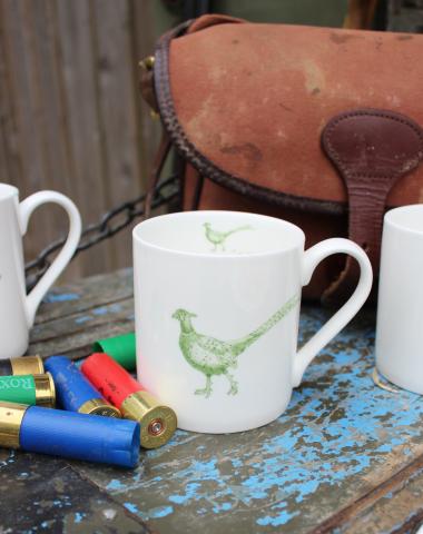 Lucy Green Designs - Pheasant Mug