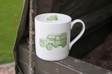 Lucy Green Designs - Landrover Mug