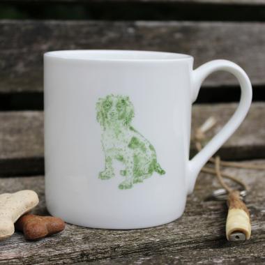 Lucy Green Designs - Spaniel Mug