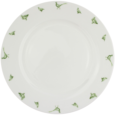 "Lucy Green Designs - Game Birds 10.5"" Plate"