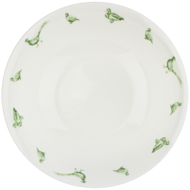 Lucy Green Designs - Game Birds Cereal Bowl