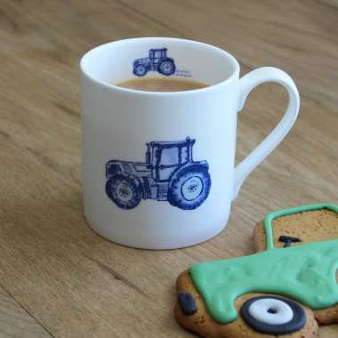 Lucy Green Designs - Tractor Mug