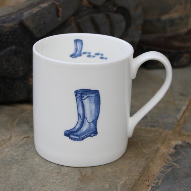 Lucy Green Designs - Wellingtons Mug