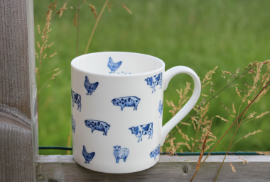 Lucy Green Designs - Farm Animals Mug