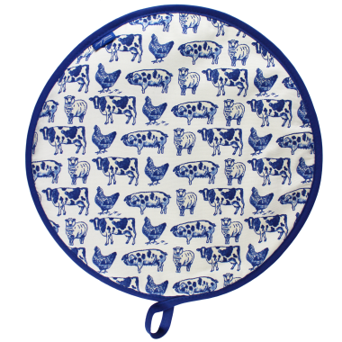 Lucy Green Designs - Farm Animals Hob Cover