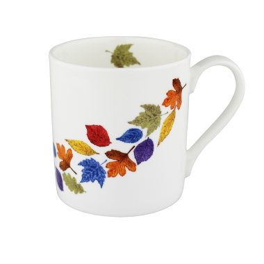 Lucy Green Designs - Falling Leaves Mug