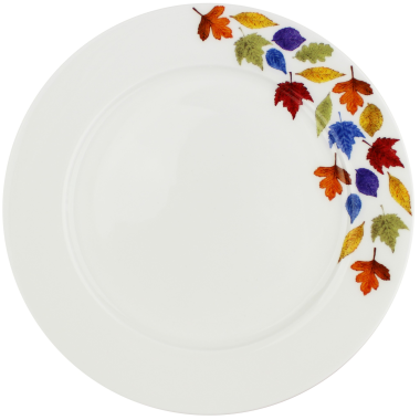 Lucy Green Designs - Falling Leaves Side Plate